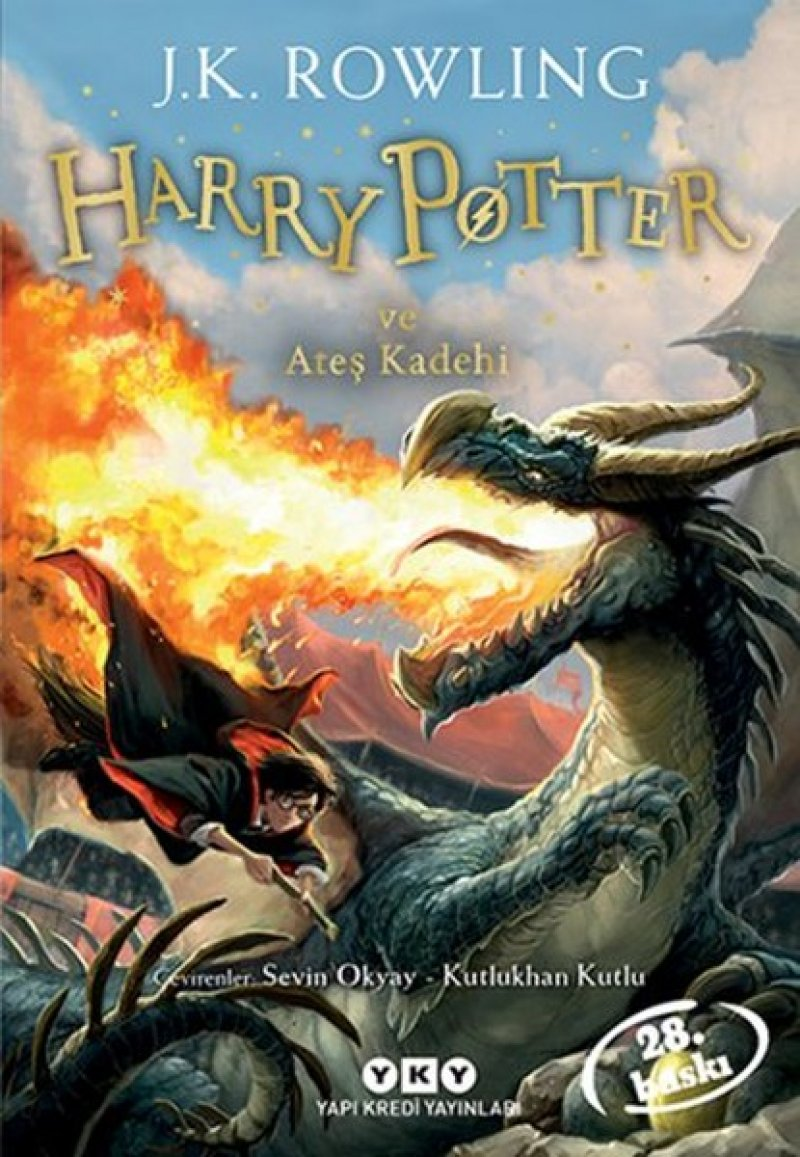 Harry Potter ve Ateş Kadehi 4.Kitap