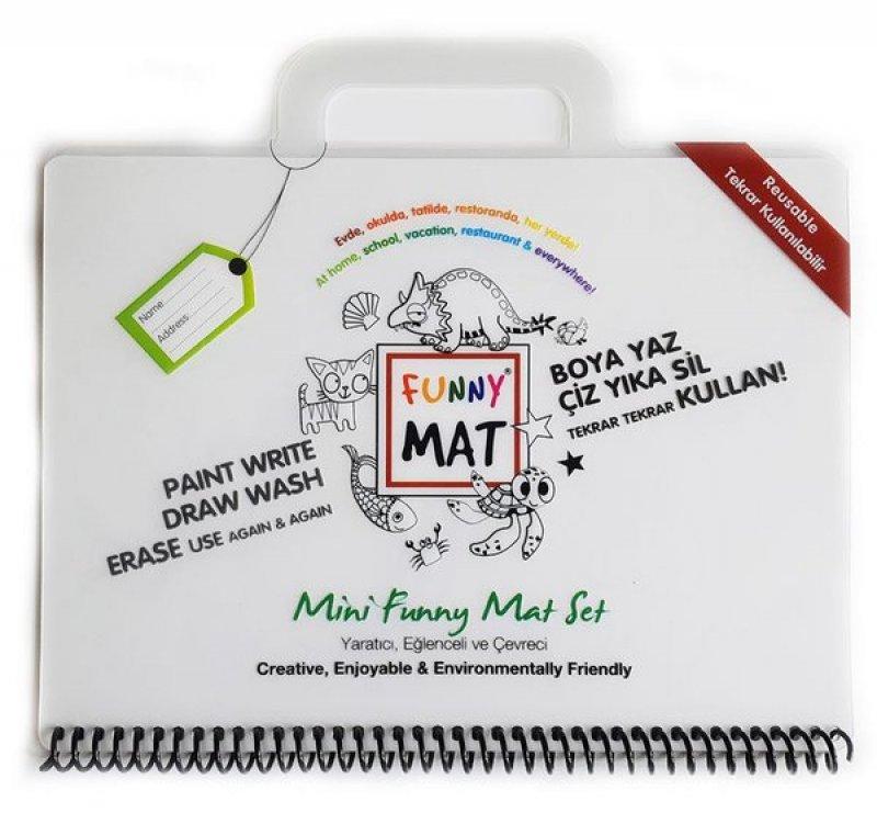 Eğlenceli Silinebilir Mat - Mini Set (Travel Set)