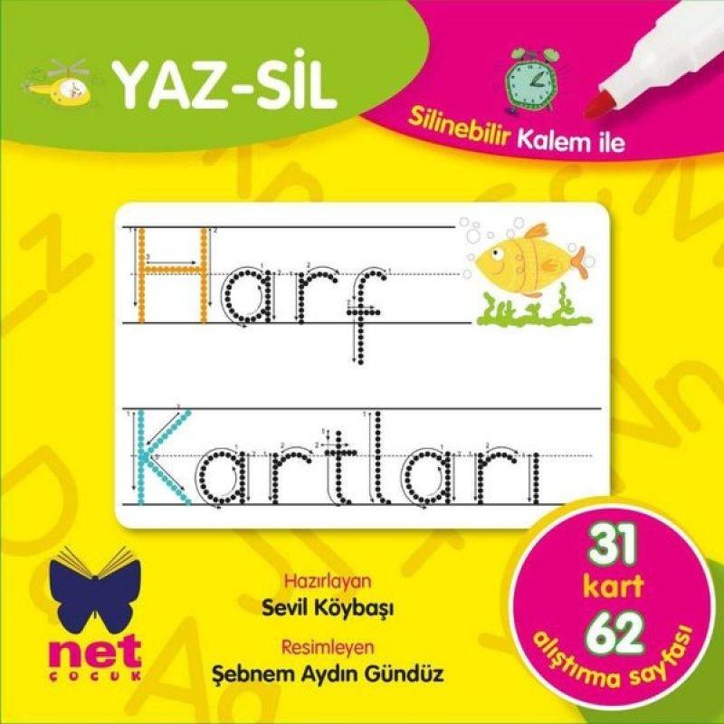 Yaz Sil Harf Kartları 01