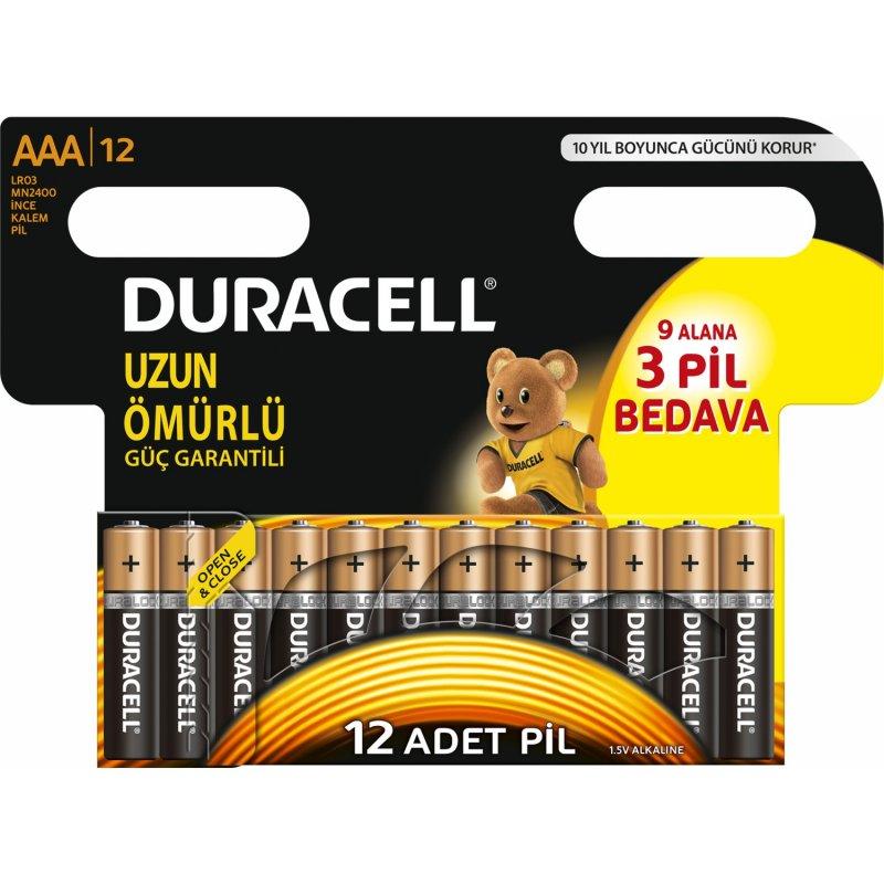 Duracell Duralock Aaa Pil (12 Adet)
