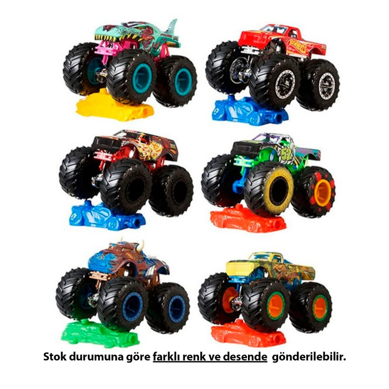 Hot Wheels Monster Truck 1:64 Araba