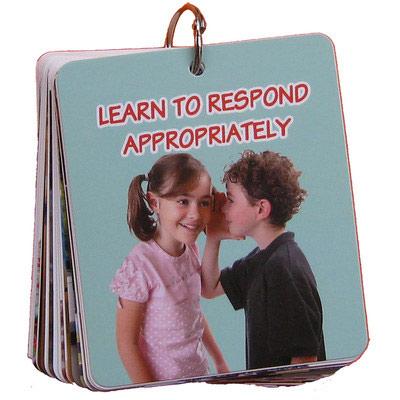Learn To Respond Appropriately (Doğru Davranış Kartları) (35 Parça)