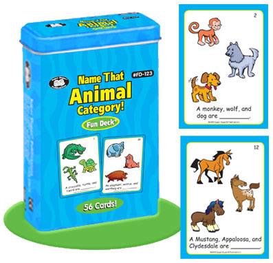 Super Duper Hayvanları Tanıyalım Kartları Fd 123