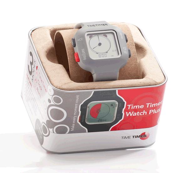 Time Timer Watch Plus Kol Saati (Açık Gri )