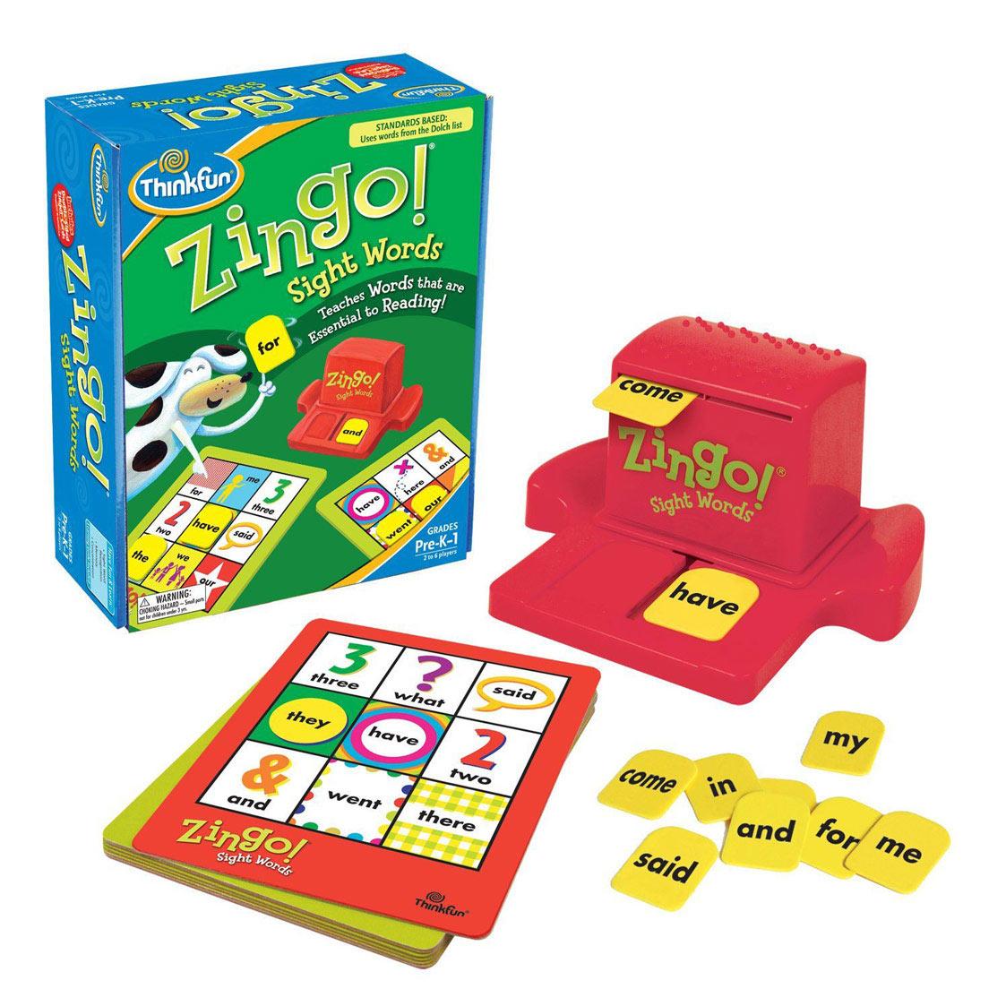 Zingo - İngilizce (Zingo Sightwords) Yaş:5+