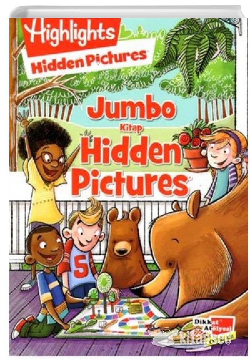 Hidden Pictures Jumbo Kitap