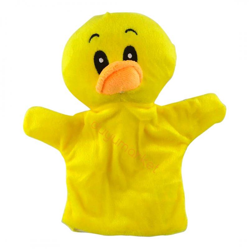 Ördek El Kuklası - Peluş - 25 Cm