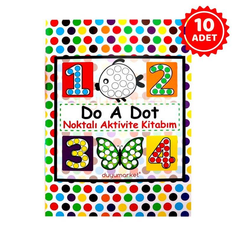 Do A Dot Noktalı Aktivite Kitabım - 10'lu Set