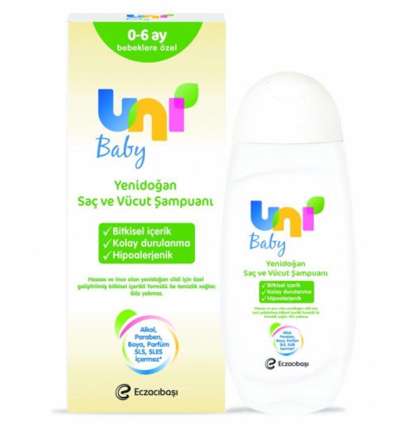 Uni Baby Yenidoğan Şampuanı 200 Ml