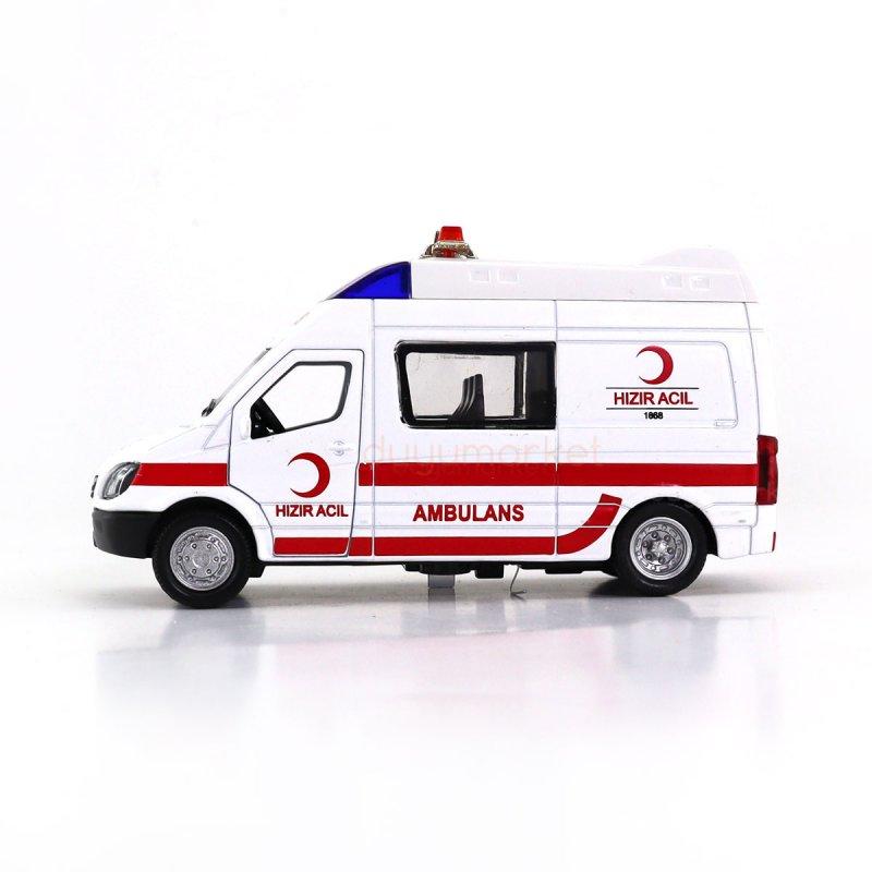 Işıklı Ve Sesli Ambulans