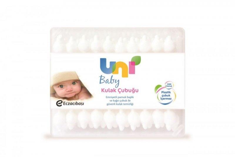 Uni Baby Emniyetli Kulak Temizleme Çubuğu 60 Lı
