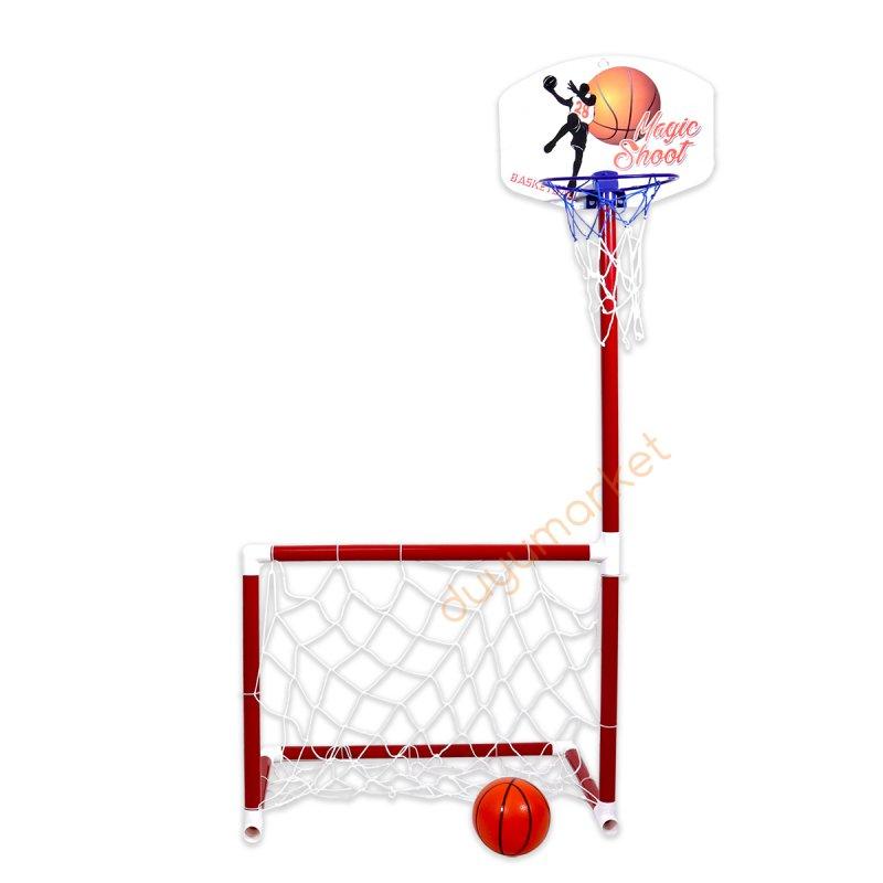 Matrax Portatif Kale Ve Basket Potası
