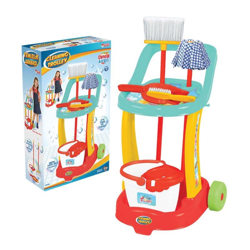 Candy Temizlik Arabası 01965