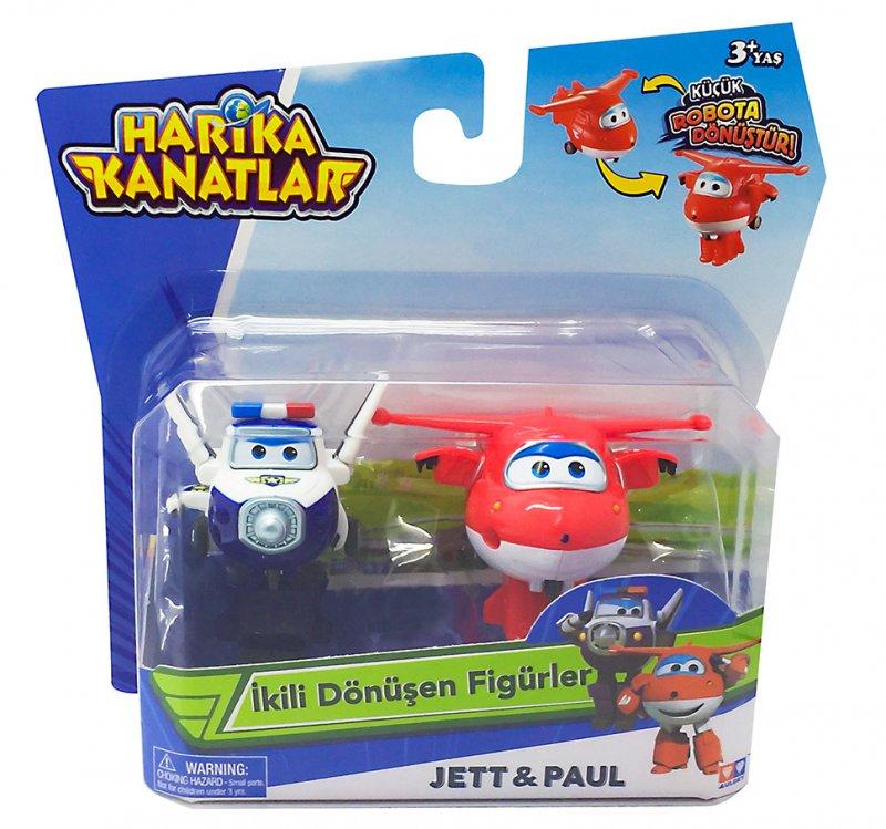 Harika Kanatlar 2´li Mini Figür Jett & Paul