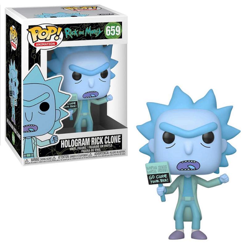 Funko Pop Figür - Rick And Morty, Hologram Rick Clone