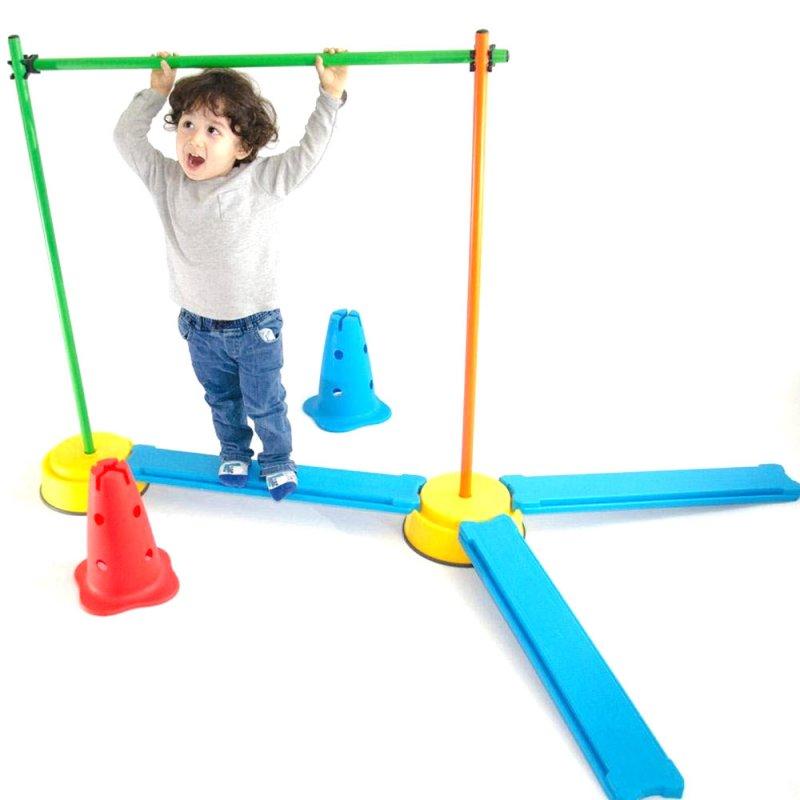 Gonge Denge Eğitim Başlangıç Seti - Build'n Balance Beginner
