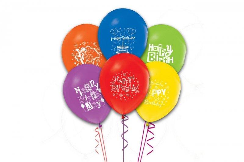 Happy Birthday Balon 100 Adet