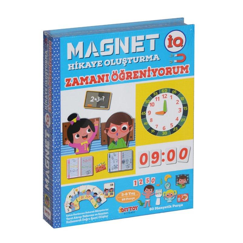 Magnetiq Hikaye Oluşturma - Zamanı Öğreniyorum