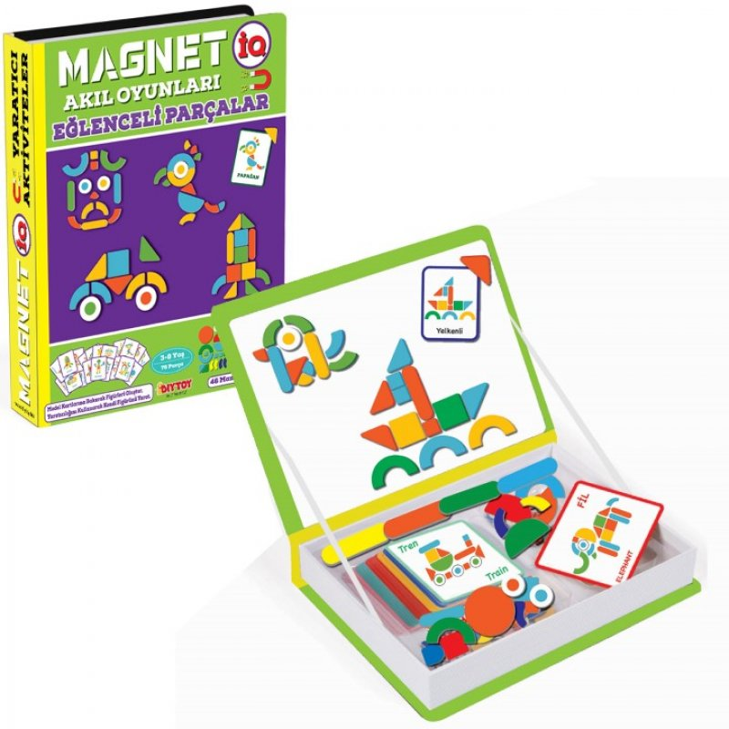 Magnetiq Eğlenceli Parçalar