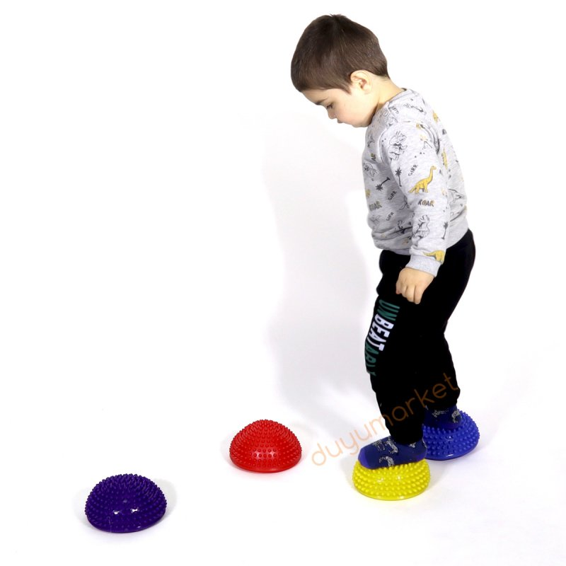 Dikenli Denge Taşları - Stepping Stones 4'lü Set