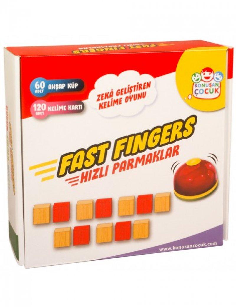 Fast Finger Hızlı Parmaklar Kelime Kodlama Oyunu ( Heceleme Oyunu)
