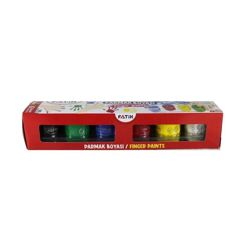 Fatih Parmak Boyası 6 Renk 6x25ml 50021
