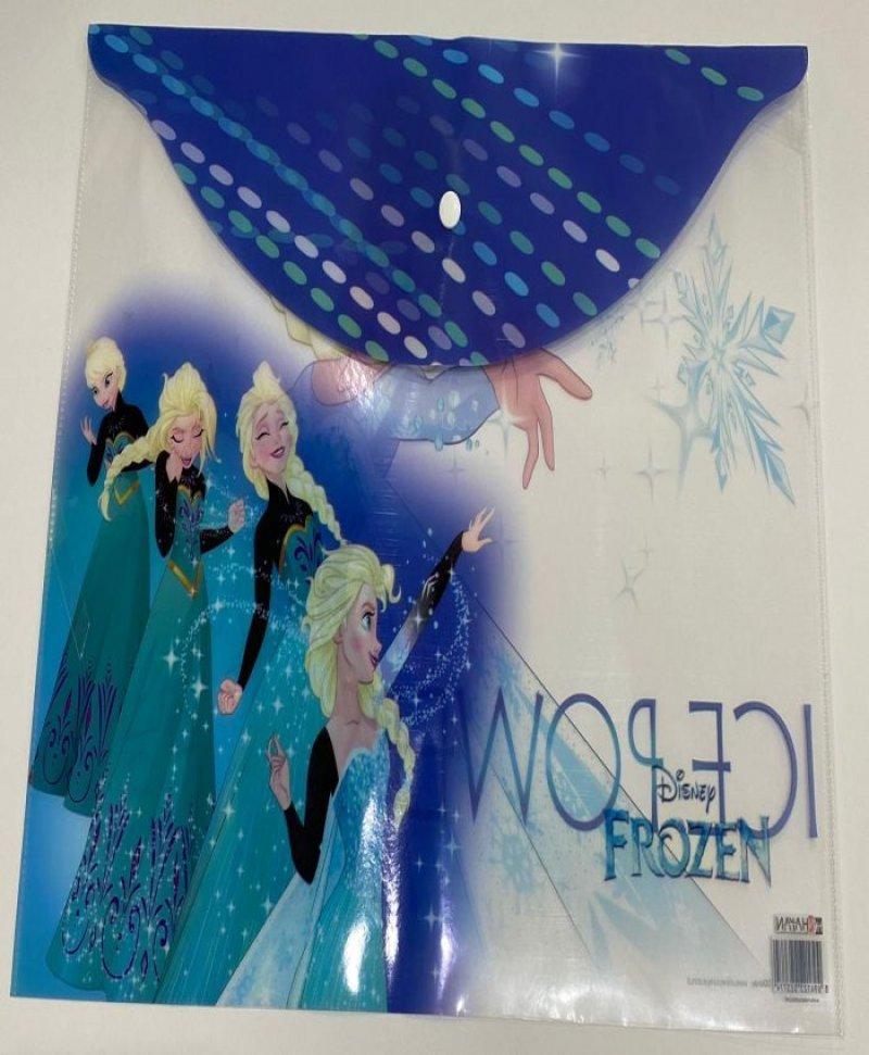 Disney Frozen Elsa Anna Lisanslı Çıtçıtlı Ödev Dosyası