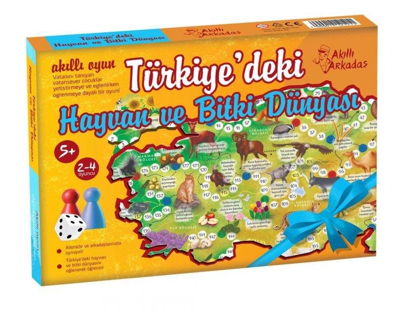 Türkiye'deki Hayvan Ve Bitki Dünyası