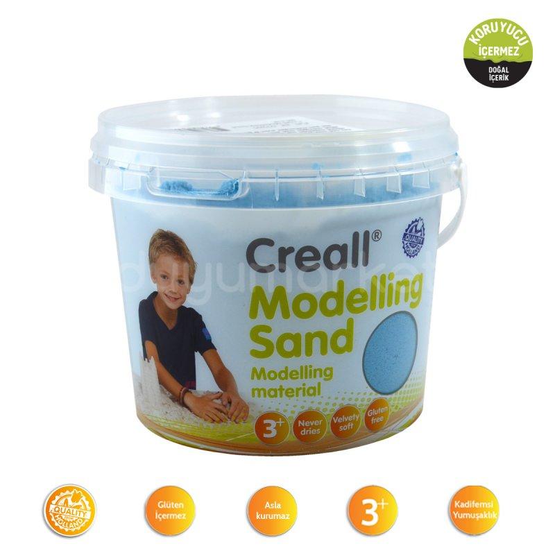 Creall Kinetik Kum 750 Gr Mavi