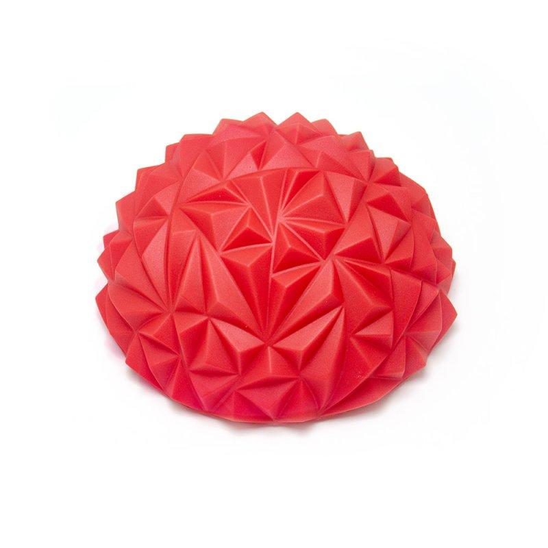 Tırtıklı Yarım Daire Denge Topu Kırmızı