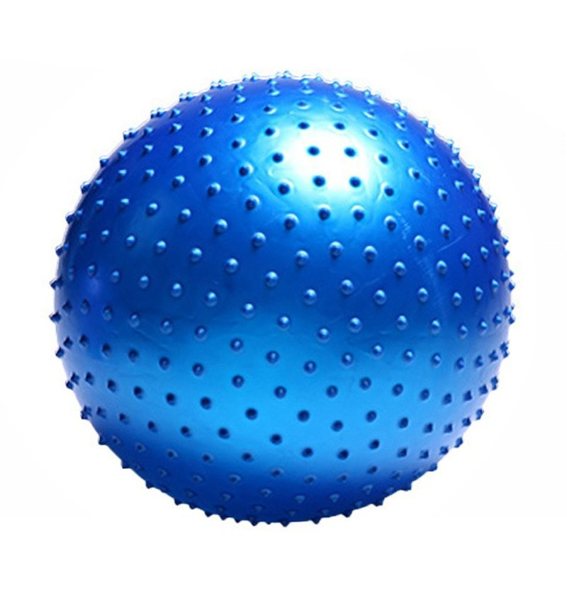 Dikenli Pilates Topu 65 Cm Mavi