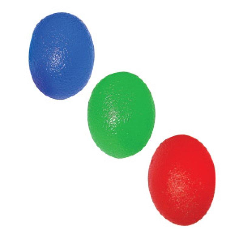 El Ve Parmak Egzersiz Topu - Mavi (Yumuşak)