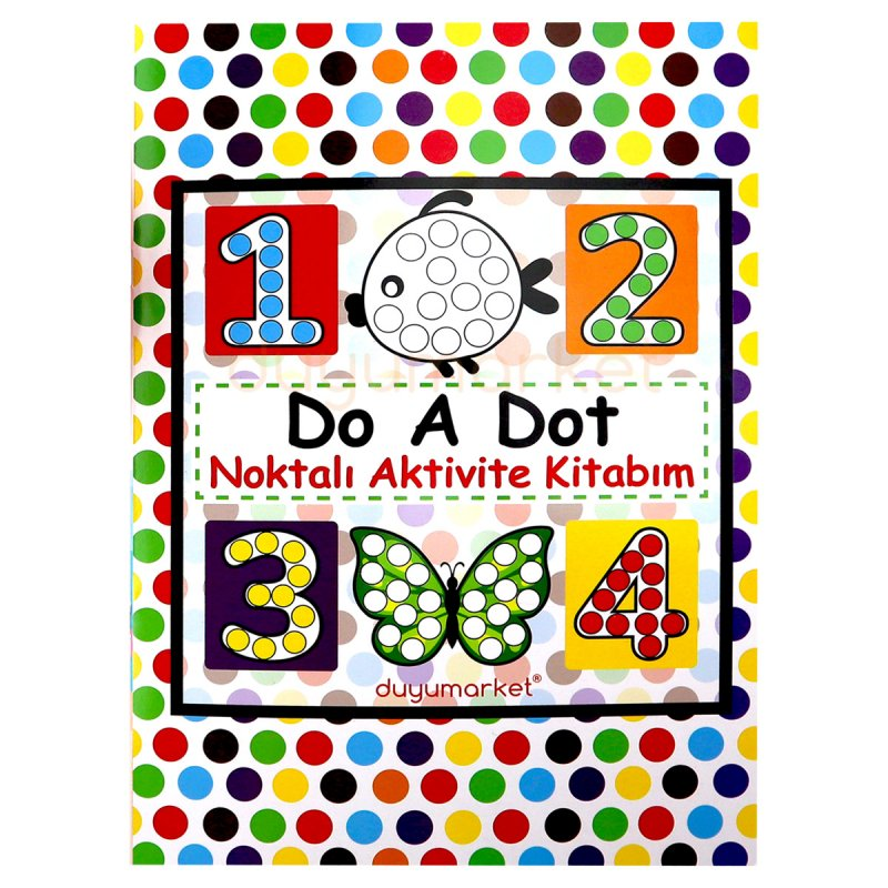 Do A Dot Noktalı Aktivite Kitabım