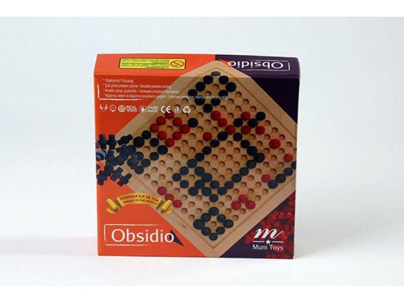 Obsidio Ahşap Zeka Oyunu
