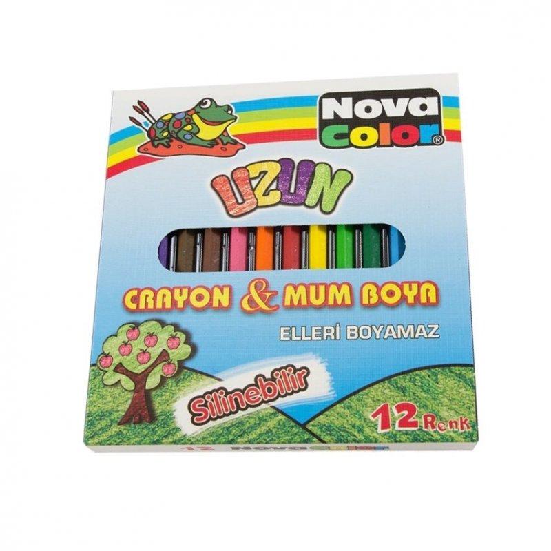 Nova Color Mum Boya 12'li