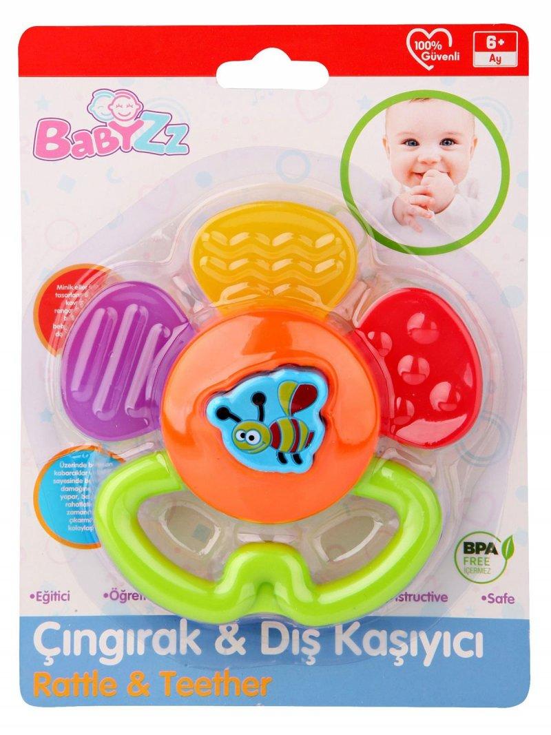 Kanz Babyzz Renkli Papatya Dişlik 30304