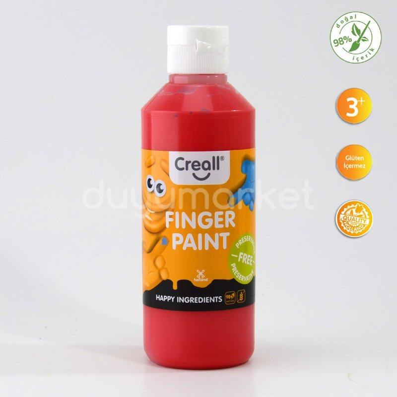 Creall Parmak Boyası ( Finger Paint ) – Kırmızı 250 Ml