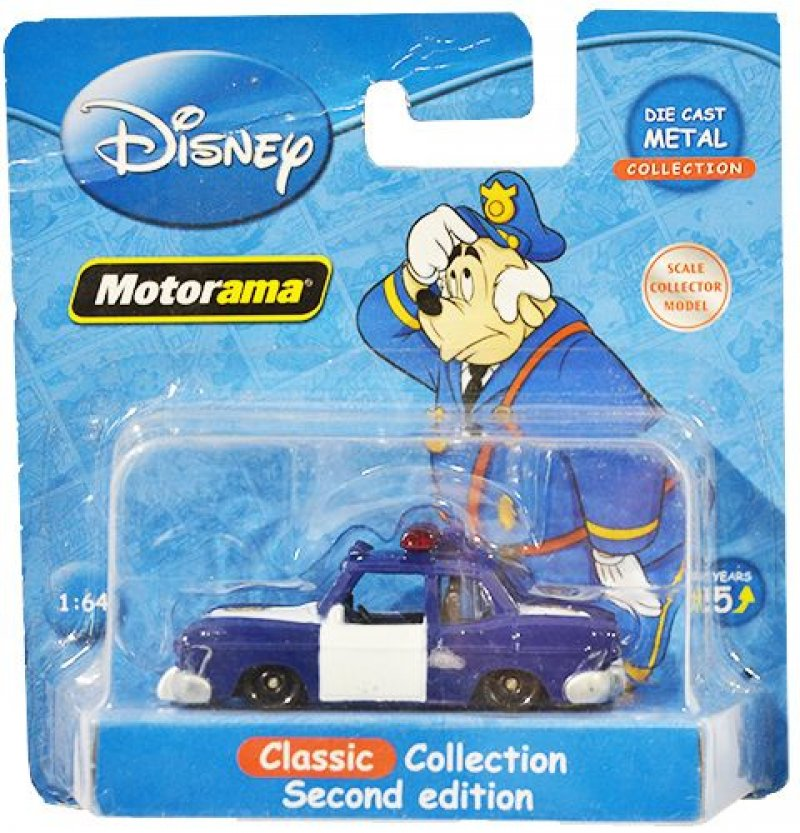 Disney Motorama Classic Collection 1:64 Police