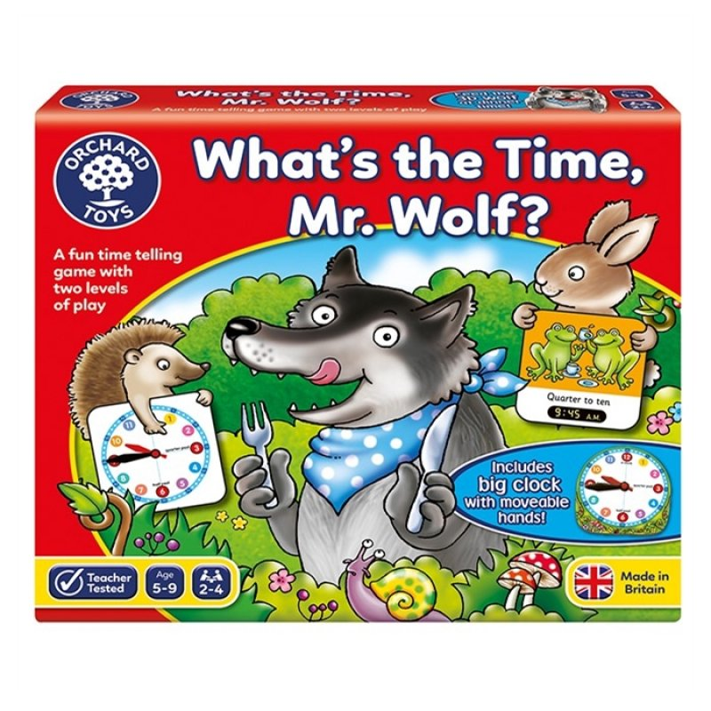 Orchard Whats The Time Mr. Wolf?