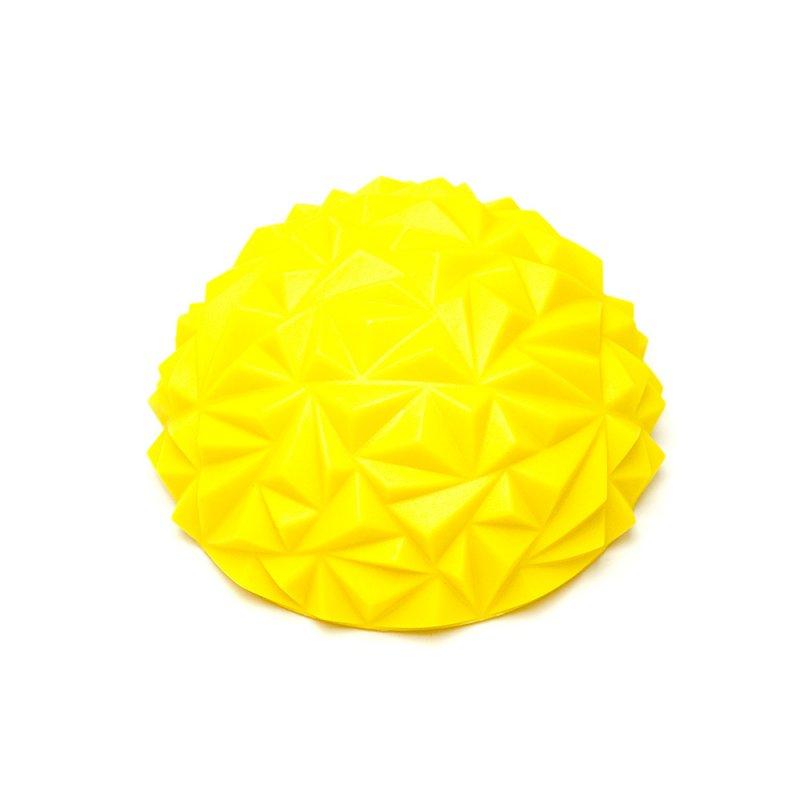 Tırtıklı Yarım Daire Denge Topu Sarı