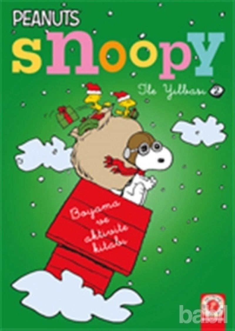Snoopy Ile Yilbasi 2 Boyama Kitabi