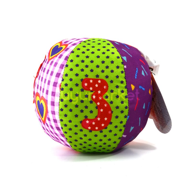 Neşeli Eğlenceli Çıngıraklı Yumuşak Top