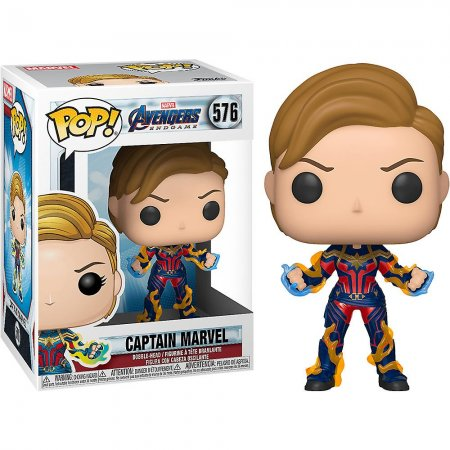 Funko Pop Figür - Marvel Avengers Endgame Captain Marvel New Hair