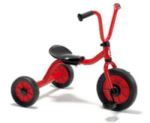 414.20 Triycle Red Mini Viking Bisiklet
