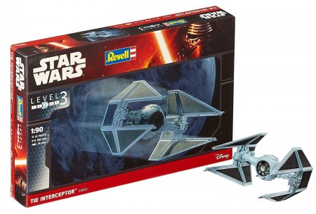 Revell Star Wars Tie Interceptor Maketi