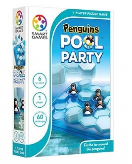 Penguins Pool Party - Tek Kişilik Puzzle Oyunu