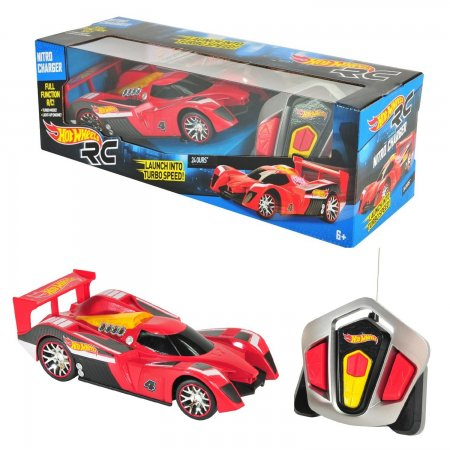 Hot Wheels Nitro Charger Uzaktan Kumandalı Araba 24Ours 90480