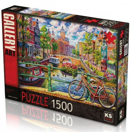 A Colorful City Puzzle 1500 Parça (Art.-nr. 22018)