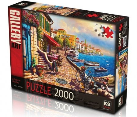 A Seaside Holiday Puzzle 2000 Parça (Art.-nr. 22511)