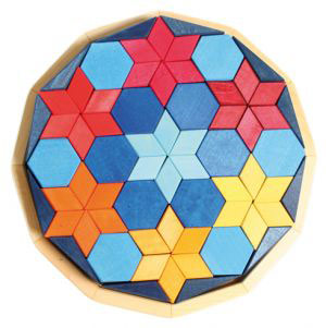 Grimms Dodecagon Starrynight 66 Parça 28 cm 43290